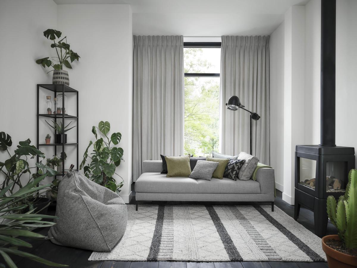 Gordijnen Als Roomdivider : Overgordijnen de eye catcher in uw interieur gordijnen